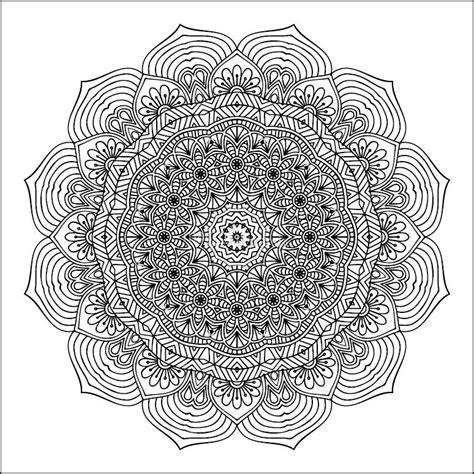 immagini dei mandala da colorare 15 disegni da colorare difficili business e educazione