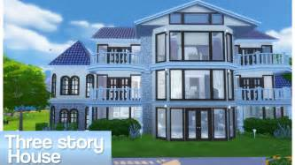 three story building sims 4 three story house