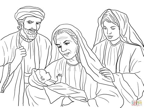 Kleurplaat Ruth by Boaz Ruth And Baby Obed Coloring Page Free