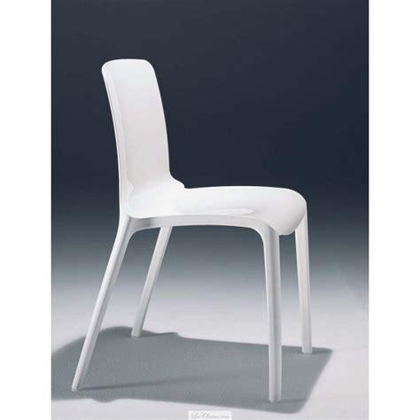 Chaise Design Blanche Tiffany Et Chaises Casprini