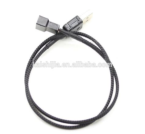 usb to 4 pin fan connector customized design usb to fan 3 pin 4 pin adapter cable