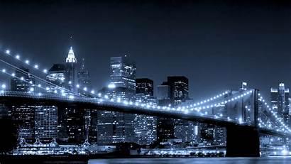 Night Bridge Illuminated Definition Desktop Wallpapers Iphone