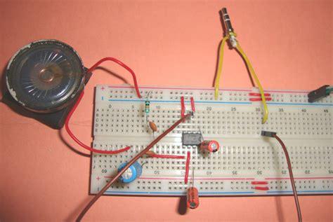 small loudspeaker circuit diagram  ic lm