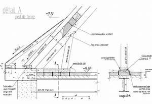 detail charpente en bois immobilier pour tous With type de toiture maison 15 poser des tuiles minerales en beton pour la toiture