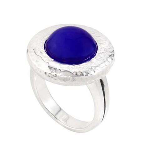 hammered ring kr041 size 8 kameleon jewelry