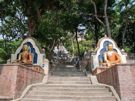 swayambhunath kathmandu nepal monkey temple sonya