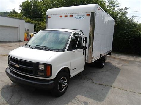 manual cars for sale 1999 chevrolet express 3500 regenerative braking sell used 1999 99 chevrolet express 3500 box van box truck 5 7l auto in andersonville tennessee