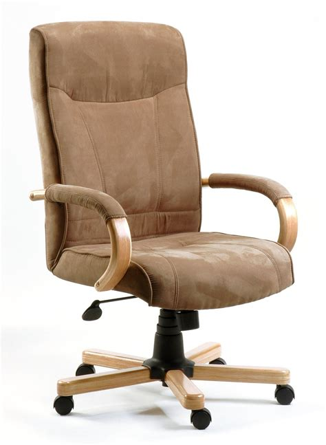 wood and fabric office chairs best computer chairs for