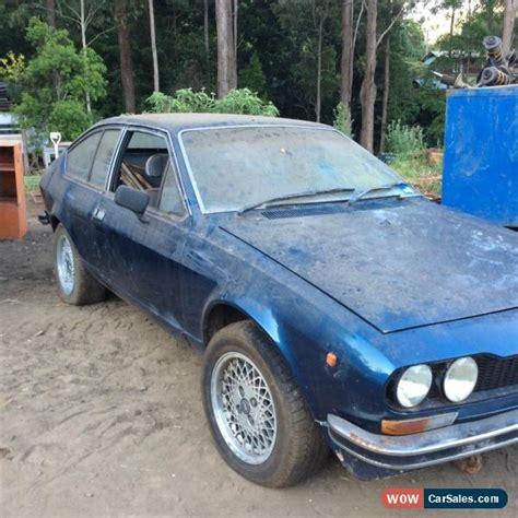 Alfa Romeo Alfetta For Sale by Alfa Romeo Alfa Romeo Alfetta 1976 Gt For Sale In Australia