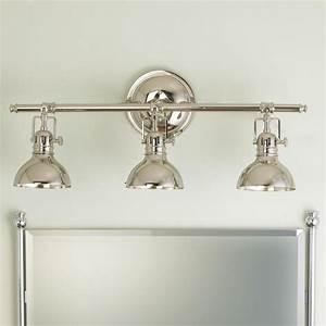 Pullman bath light 3 light master bath vanities and for Bathroom lightimg