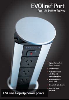 PULL POP UP ELECTRICAL PLUG SOCKET 2 USB KITCHEN WORKTOP