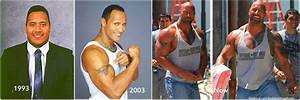 Dwayne Johnson 'The Rock' on steroids or natural? - Weight ...