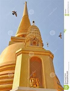 Wat Bowonniwet Vihara Rajavaravihara Bangkok Thailand Stock Images