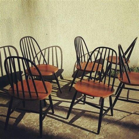 chaises suédoises de carl malmsten édition haga fors