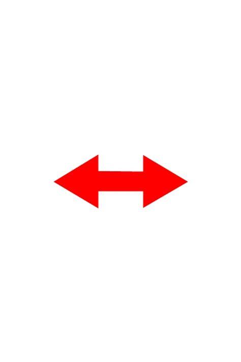 durastripe double ended arrow floor marker shapes