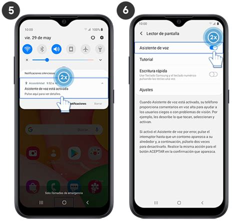 El dispositivo actúa como un asistente personal. Galaxy A01 - ¿Cómo desactivar el asistente de voz?   Samsung Soporte CO