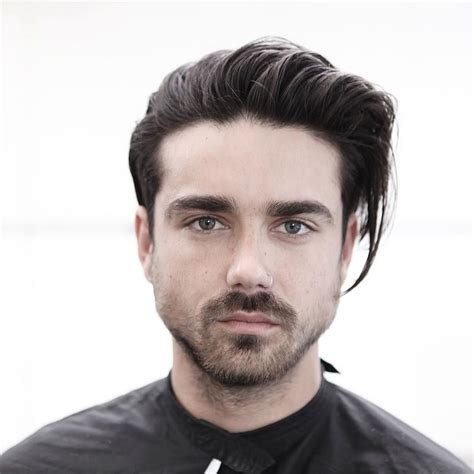 men hairstyles  oval face hair cut guide atoz