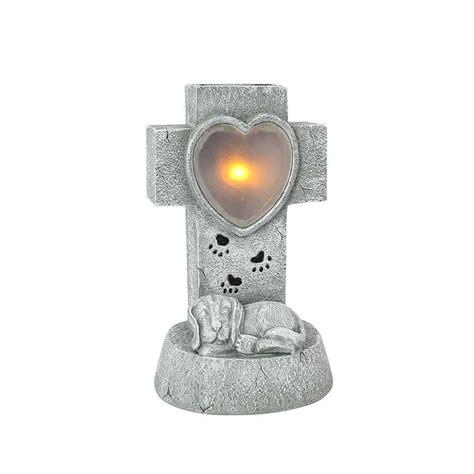 solar memorial light