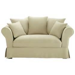 Kleines 2 Sitzer Sofa : sofa 2 3 sitzer aus leinen beige roma maisons du monde ~ Bigdaddyawards.com Haus und Dekorationen