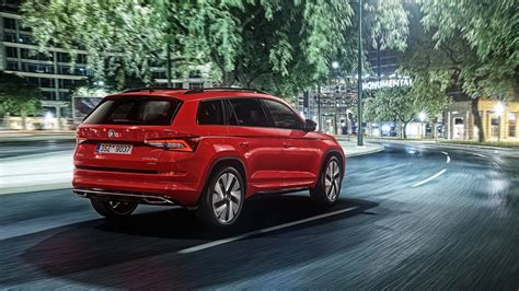 skoda kodiaq sportline 2017 skoda kodiaq sportline is all about standing out from