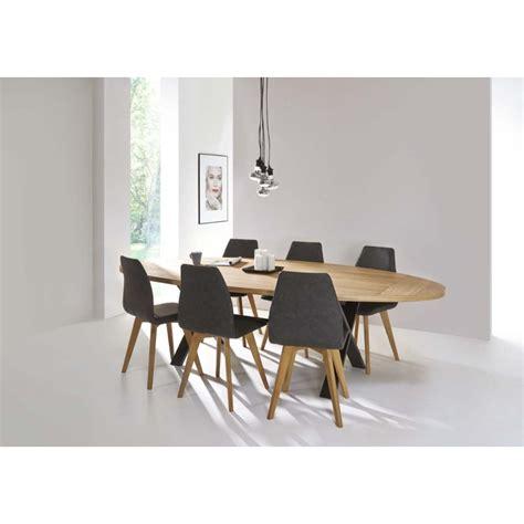 table salle a manger ovale table de salle 224 manger cross ovale d 233 co en ligne tables de salle a manger design