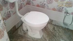 Plumbing And Sanitary Work Full Complete In The Bathroom