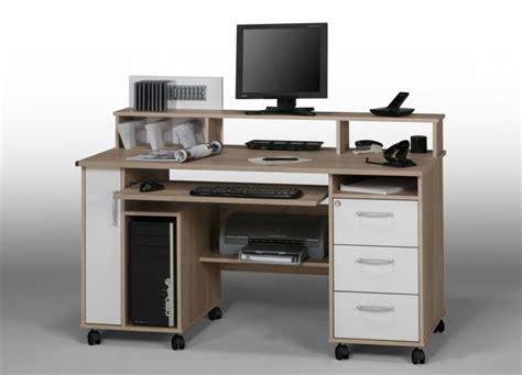 bureau gamer meuble bureau pour ordinateur portable et imprimante bureaux