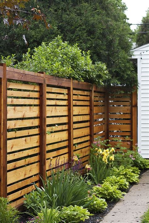 Backyard Wood Fence Ideas - best 25 privacy fences ideas on privacy fence