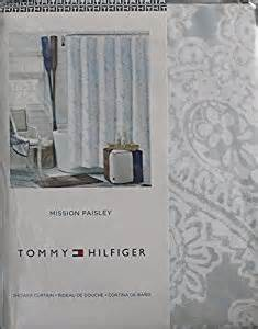 amazon com tommy hilfiger fabric shower curtain mission