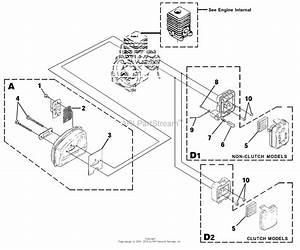 Homelite Versatool String Trimmer Ut-15136 Parts Diagram For Muffler