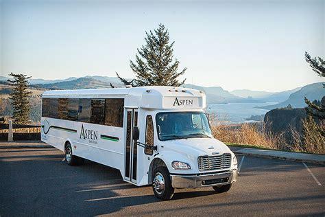 Limo Tours by Limousine Service Portland Or Aspen Limo Tours