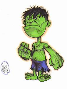 Chibi Hulk by Burke73 on DeviantArt