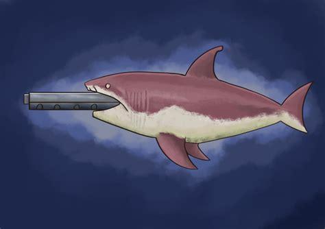 terraria mega shark painting  coolkranx  newgrounds