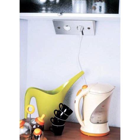 re electrique pour cuisine multiprise pour angle de plan de travail ou dessous de