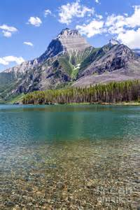 Kintla Lake Glacier National Park Montana