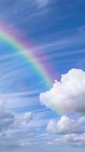 Rainbow over the blue sky Wallpaper Download 720x1280