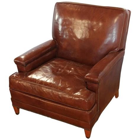 vintage leather club chairs antique leather club chair at 1stdibs 6840