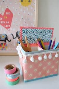 Schreibtisch Organizer Basteln : schreibtisch organizer aus milcht ten handmade kultur ~ Eleganceandgraceweddings.com Haus und Dekorationen