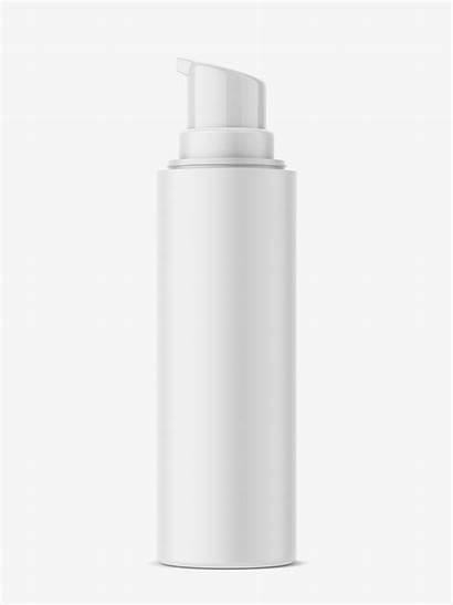 Bottle Airless Mockup Bottles Cosmetics Smartymockups Ml