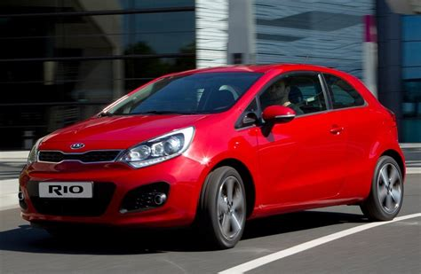 The Tec 3 Door  A Brand Spanking New Kia Rio  Auto Mart Blog