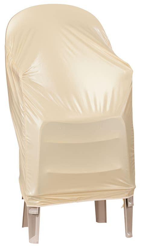 beige stacking chair cover ebay