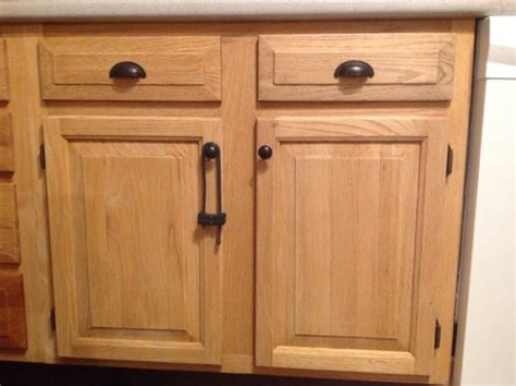 best hardware for oak cabinets dated oak cabinets once again