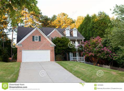 Typisches Amerikanisches Haus by Typisches Amerikanisches Haus Stockbild Bild Haupt
