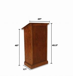 PDF Plans Woodworking Plans Podium Download DIY