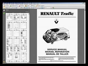Renault Trafic - Manual De Taller - Workshop Manual