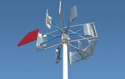 Ветроэнергетические установки устройство и технические характеристики