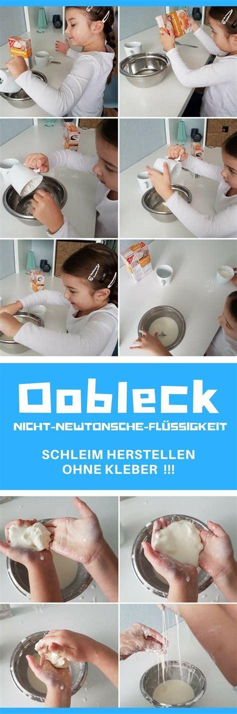 oobleck experiment schleim ohne kleber waschmittel wir testen und berichten