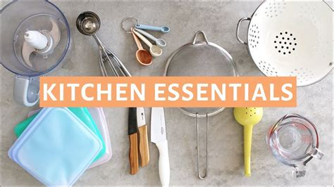 top  kitchen essentials  kitchen tools  youtube