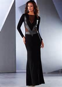 Venus Lace Black Dress