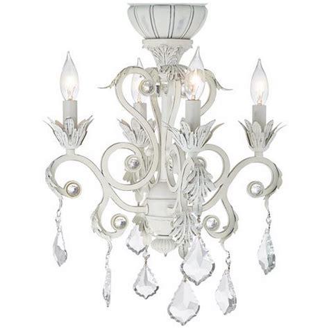 Chandelier Lighting Kit by 4 Light Rubbed White Chandelier Ceiling Fan Light Kit